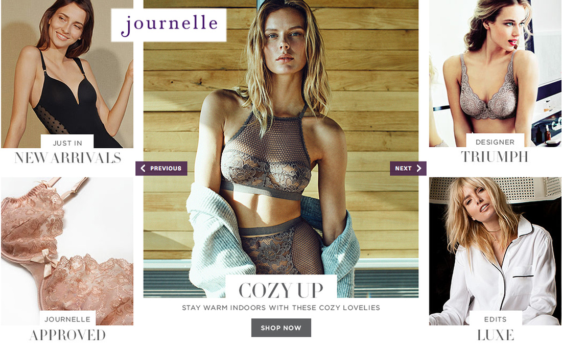 Journelle Lingerie Shop Now